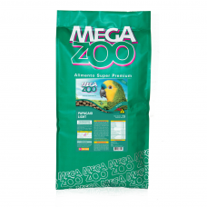 Megazoo Extrusada Papagaios Light 12kg